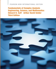 Fundamentals of Complex Analysis  with Applications to Engineering,  Science, and Mathematics: Pearson New International Edition, Paperback / softback Book