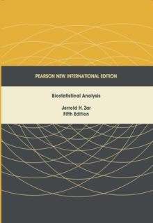 Biostatistical Analysis: Pearson New International Edition, Paperback Book