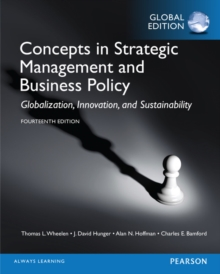 Concepts in Strategic Management and Business Policy, Global Edition, Paperback Book