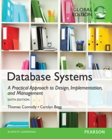 Database Systems: A Practical Approach to Design, Implementation, and Management, Global Edition, Mixed media product Book