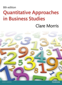 Quantitative Approaches in Business, Mixed media product Book
