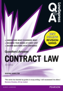 Law Express Question and Answer: Contract Law (Q&A revision guide), Paperback / softback Book