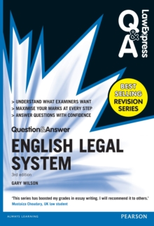 Law Express Question and Answer: English Legal System(Q&A revision guide), EPUB eBook