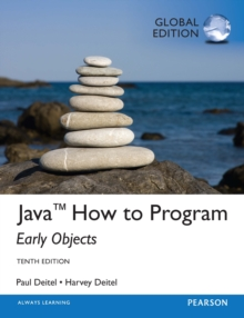 Java How To Program (Early Objects), Global Edition, PDF eBook