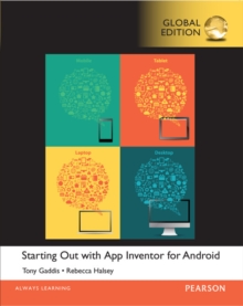 Starting Out With App Inventor for Android, Global Edition, Mixed media product Book