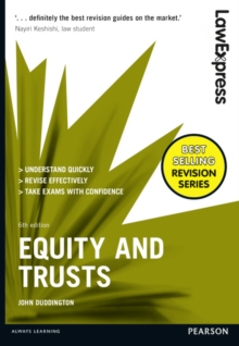 Law Express: Equity and Trusts, Paperback Book