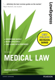Law Express: Medical Law, Paperback Book