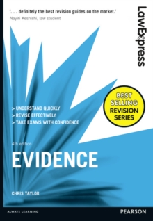 Law Express: Evidence, Paperback Book
