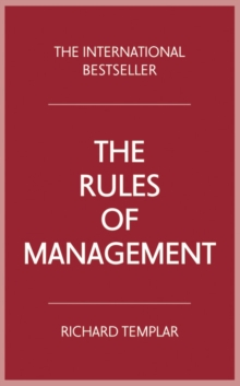The Rules of Management, Paperback Book