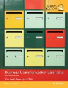 Business Communication Essentials, Global Edition, PDF eBook