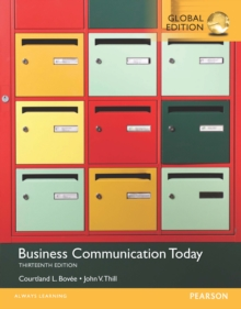 Business Communication Today, Global Edition, PDF eBook