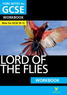 Lord of the Flies: York Notes for GCSE (9-1) Workbook, Paperback Book