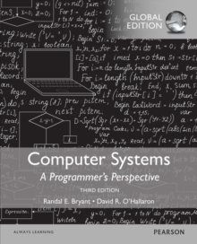Computer Systems: A Programmer's Perspective, Global Edition, Paperback Book