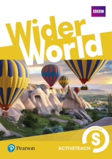Wider World Starter Teacher's Active Teach, CD-ROM Book