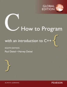 C How to Program, Global Edition, PDF eBook