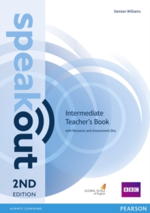 Speakout Intermediate 2nd Edition Teacher's Guide with Resource & Assessment Disc Pack, Mixed media product Book