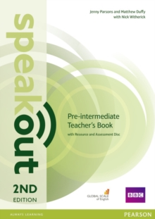 Speakout Pre-Intermediate 2nd Edition Teacher's Guide with Resource & Assessment Disc Pack, Mixed media product Book