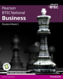 BTEC Nationals Business Student Book 1 + Activebook : For the 2016 specifications, Mixed media product Book