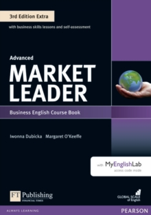 Market Leader 3rd Edition Extra Advanced Coursebook with DVD-ROM and MyEnglishLab Pack, Mixed media product Book