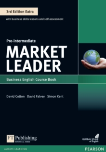 Market Leader 3rd Edition Extra Pre-Intermediate Coursebook with DVD-ROM Pack, Mixed media product Book