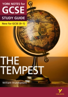 The Tempest: York Notes for GCSE (9-1), Paperback Book