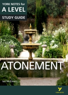 Atonement: York Notes for A-level, Paperback / softback Book