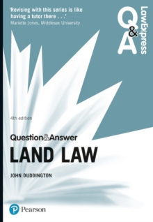 Law Express Question and Answer: Land Law, Paperback Book