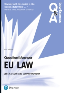 Law Express Question and Answer: EU Law, Paperback / softback Book