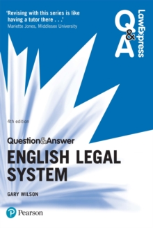 Law Express Question and Answer: English Legal System, PDF eBook