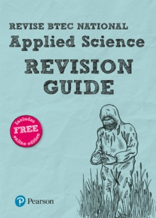 BTEC National Applied Science Revision Guide : (with free online edition), Mixed media product Book