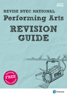 Revise BTEC National Performing Arts Revision Guide : (with free online edition), Mixed media product Book