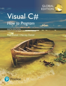 Visual C# How to Program, Global Edition, Mixed media product Book