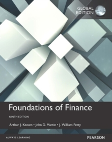 Foundations of Finance, Global Edition, Paperback / softback Book