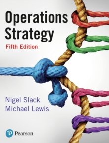 Operations Strategy, Paperback / softback Book