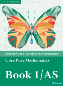 Edexcel AS and A level Further Mathematics Core Pure Mathematics Book 1/AS Textbook + e-book, Mixed media product Book