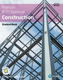 BTEC Nationals Construction Student Book + Activebook : For the 2017 specifications, Mixed media product Book