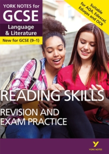 English Language and Literature Reading Skills Revision and Exam Practice: York Notes for GCSE (9-1), Paperback Book