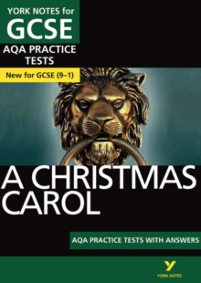 A Christmas Carol AQA Practice Tests: York Notes for GCSE (9-1), Paperback Book