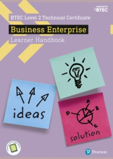 BTEC Level 2 Certificate in Business Enterprise Learner Handbook with ActiveBook, Mixed media product Book