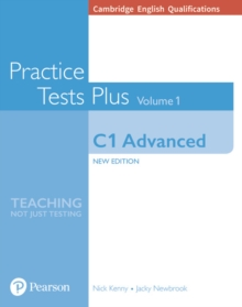 Cambridge English Qualifications: C1 Advanced Volume 1 Practice Tests Plus (no key), Paperback Book
