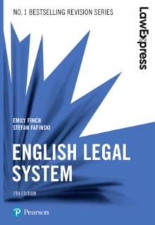 Law Express: English Legal System, Paperback / softback Book