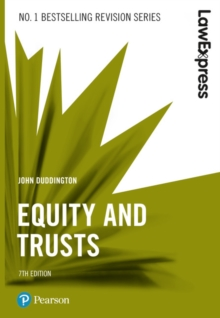 Law Express: Equity and Trusts, Paperback / softback Book