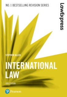 Law Express: International Law, 4th edition, Paperback / softback Book