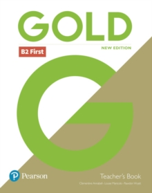 Gold First New Edition Teacher's Book and DVD-ROM pack, Mixed media product Book