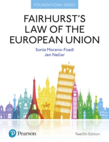 Fairhurst's Law of the European Union, Paperback Book