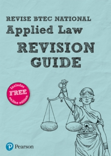 Revise BTEC National Applied Law Revision Guide, Mixed media product Book