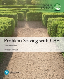 Problem Solving with C++, Global Edition, Mixed media product Book
