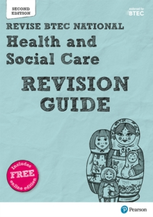 BTEC National Health and Social Care Revision Guide : Second edition, Mixed media product Book