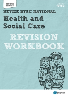BTEC National Health and Social Care Revision Workbook : Second edition, Paperback Book