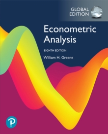 Econometric Analysis, Global Edition, Paperback / softback Book